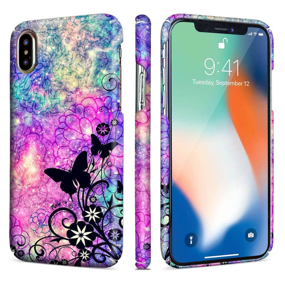 Beautiful butterflies slim celphone pc case cover for