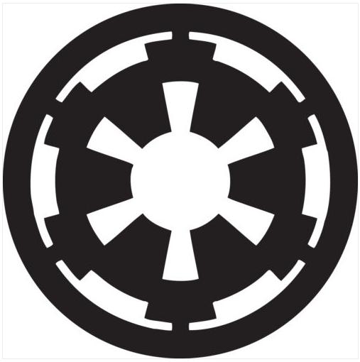 Wall Window Vehicle Star Wars Imperial Logo Decal Vinyl Sticker Star Wars Empire Logo Star Wars Symbols Empire Logo