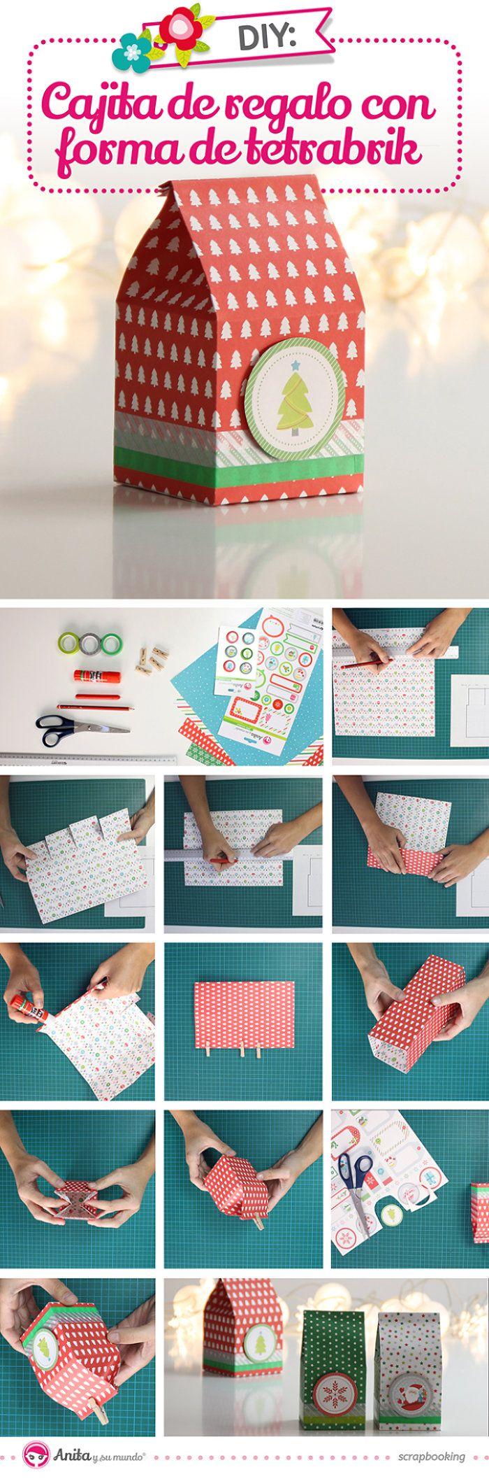 Aprende aquí cómo hacer 2 originales cajitas para envolver regalos ...