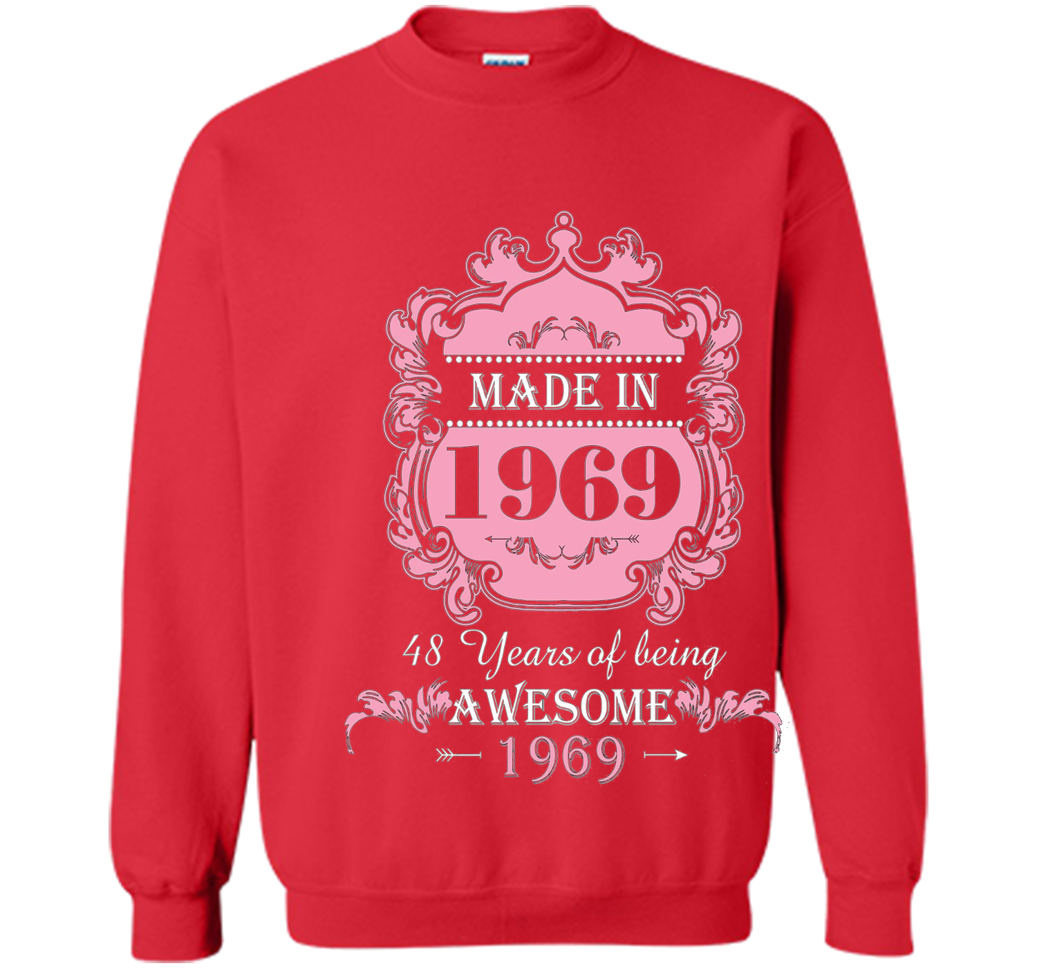 Made In 1969 T Shirt 48 Years Old 48th Birthday Gift