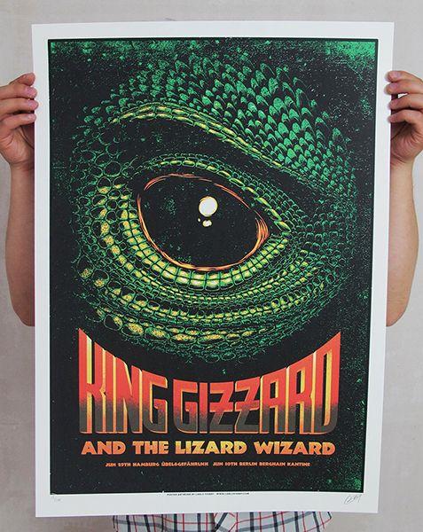 Gigposters Com King Gizzard The Lizard Wizard Capas De álbuns Cartaz