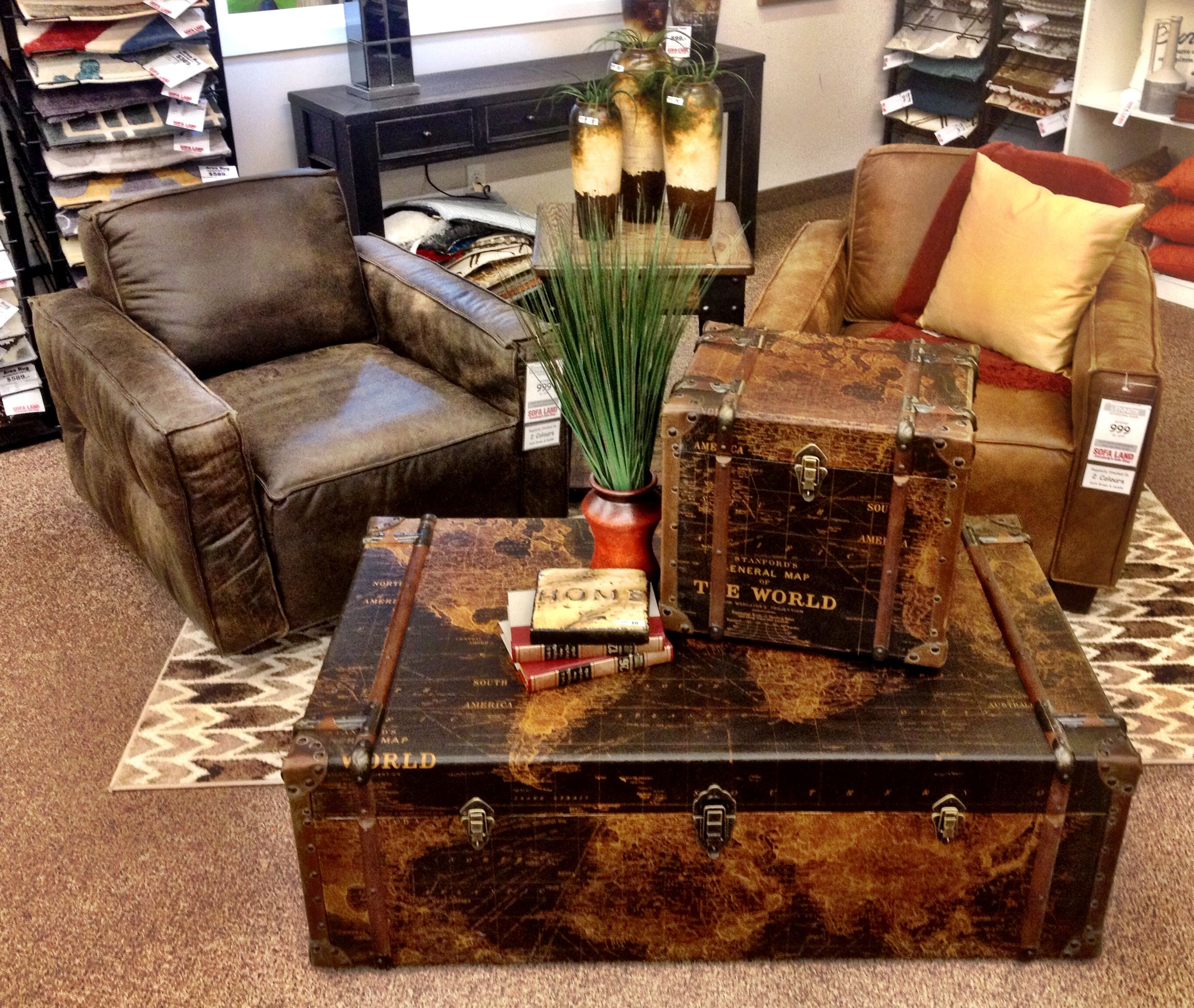 Gulliver S Trunk Coffee Table: Add Some Personality And Interest To Your Space With
