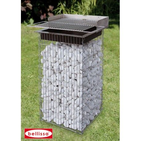 Installer Un Barbecue En Gabion Dans Votre Jardin ! Https://Www