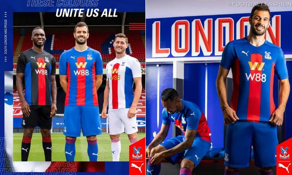 Crystal Palace 2020 21 Puma Home Away And Third Kits Football Fashion Org In 2020 World Soccer Shop Football Premier League Football