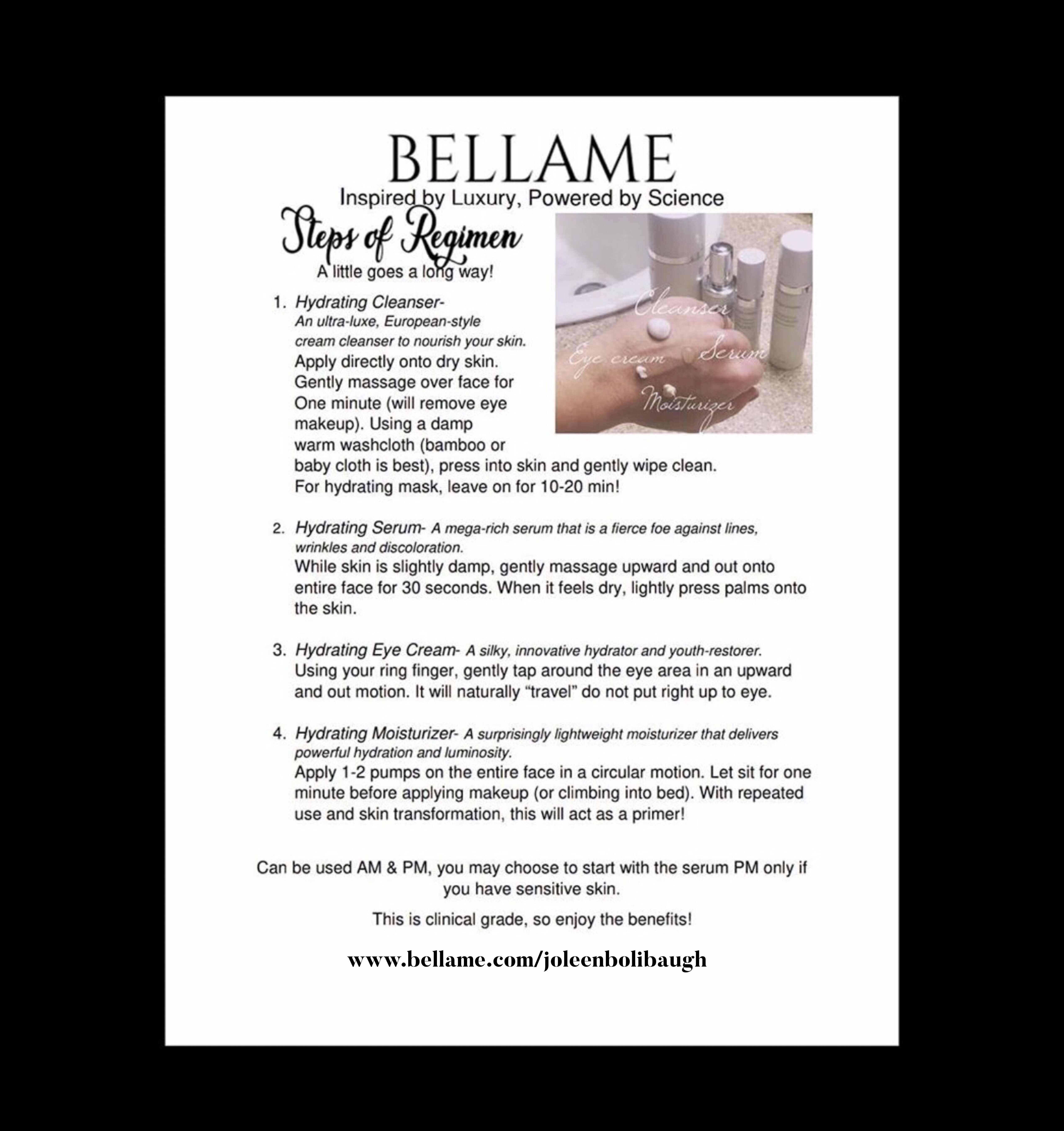 Step Bt Step Guide On How To Apply And Use Bellame Www Bellame