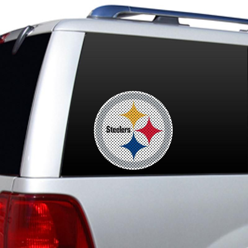 Pittsburgh steelers large window decal