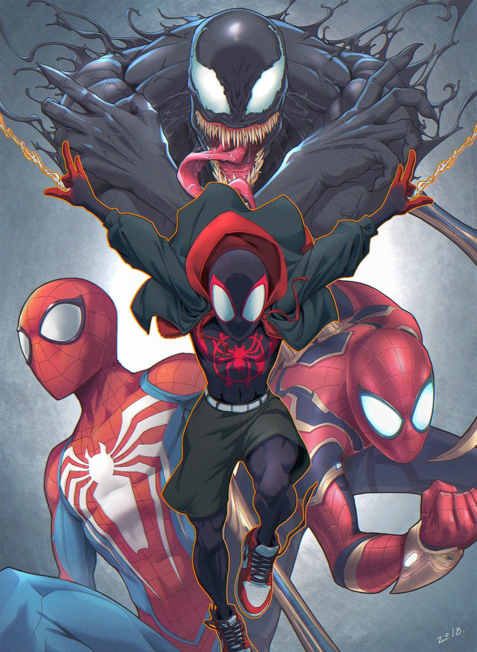 Spiderman, Peihao Wang