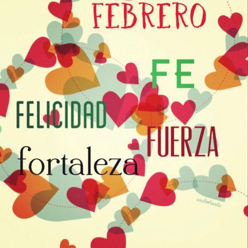 Originales Imágenes Con Frases De Hola Y Bienvenido Febrero