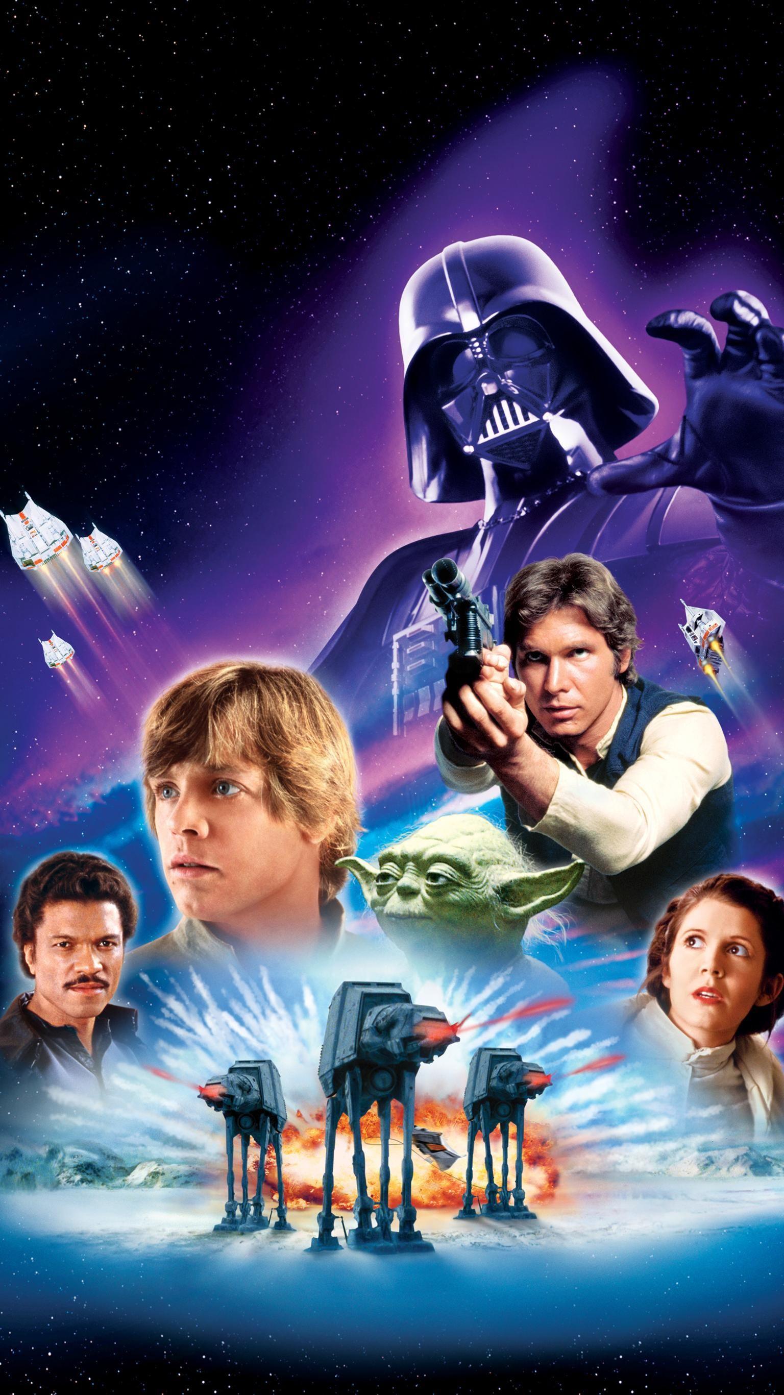Star Wars Episode 5 Phone Wallpaper