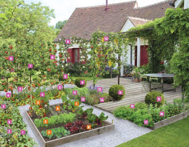 39 avant apres 39 conseils d 39 un paysagiste pour un petit jardin gourmand jardin et terrasse. Black Bedroom Furniture Sets. Home Design Ideas