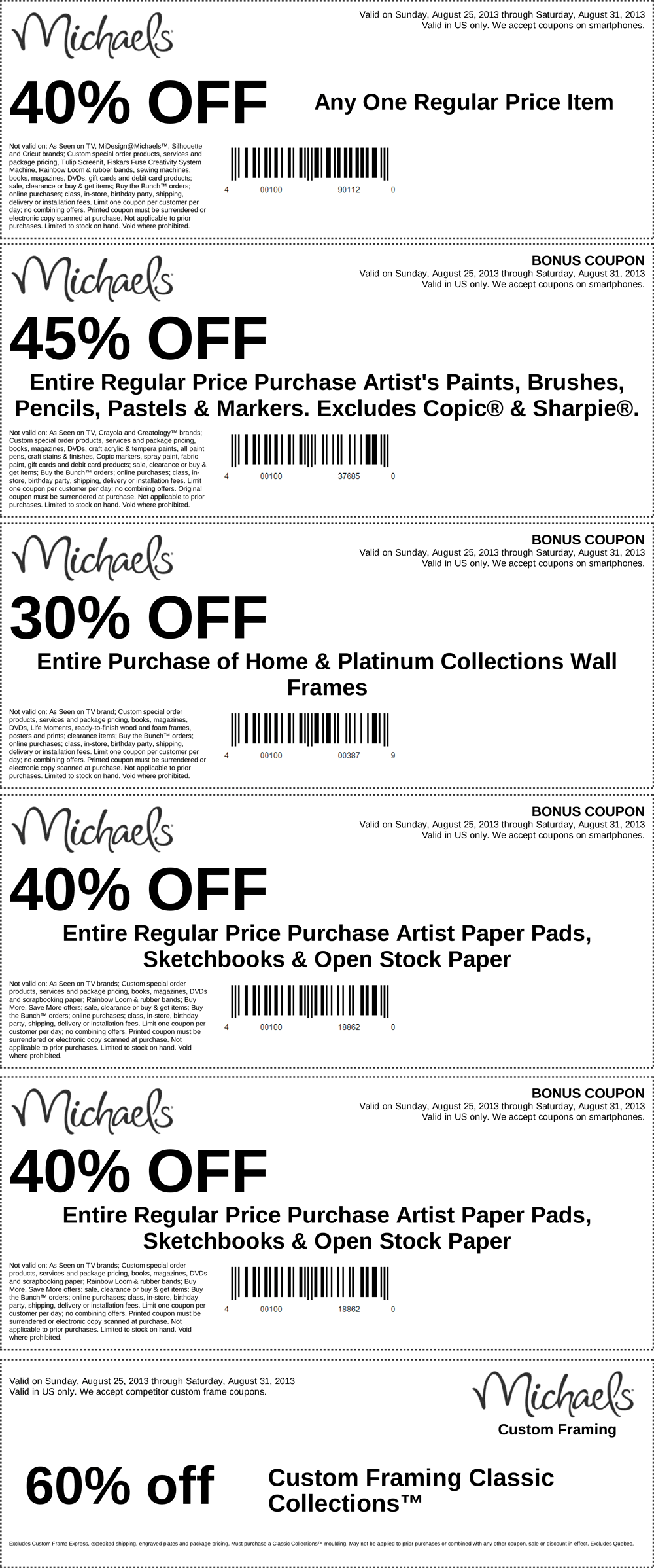 michaels coupon michaels promo code from the coupons app off a single item and more at michaels january - Michaels Frames Coupons