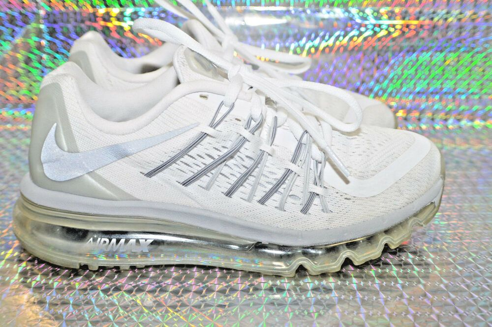 eBay Sponsored) Nike Air Max 2015 (GS) 705457 102 Youth Size