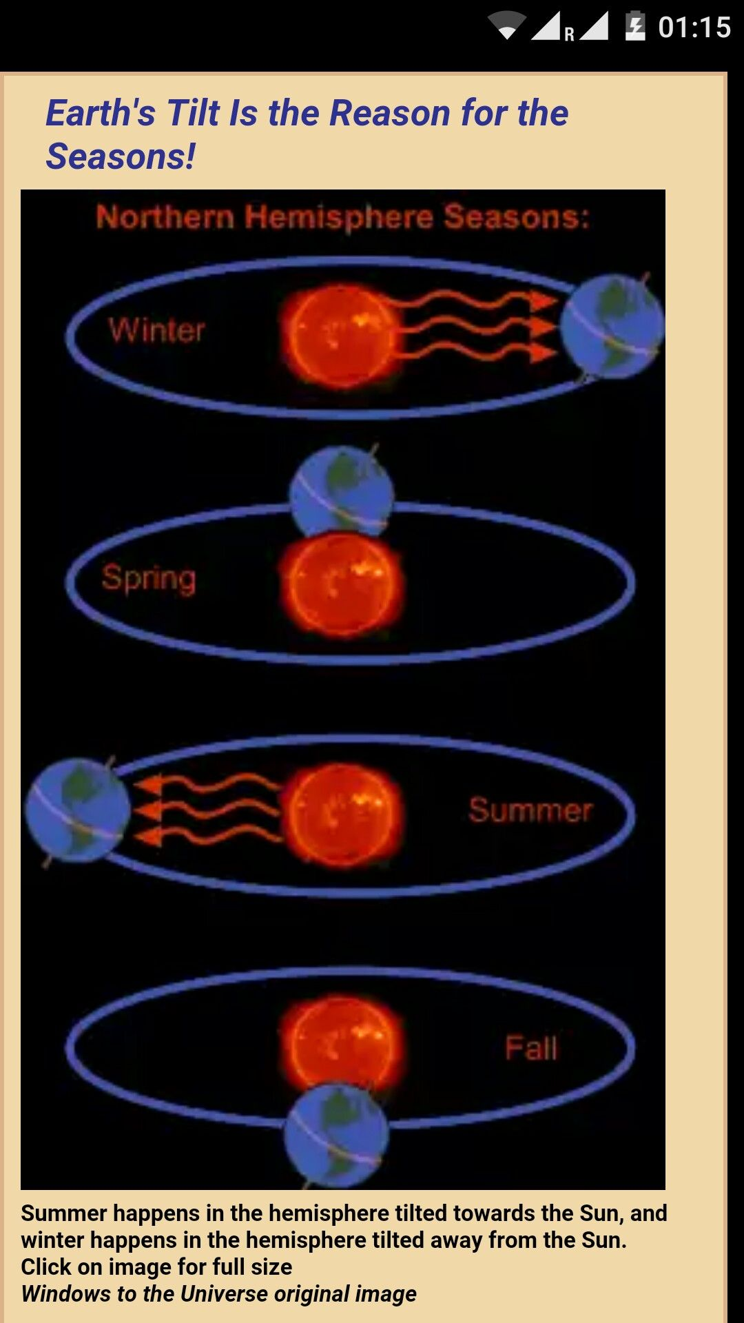 Why Do Seasons Occur