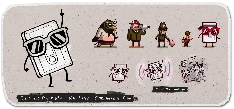 Cartoon Network Character Designer Salary : Character design for cartoon network s quot the great prank