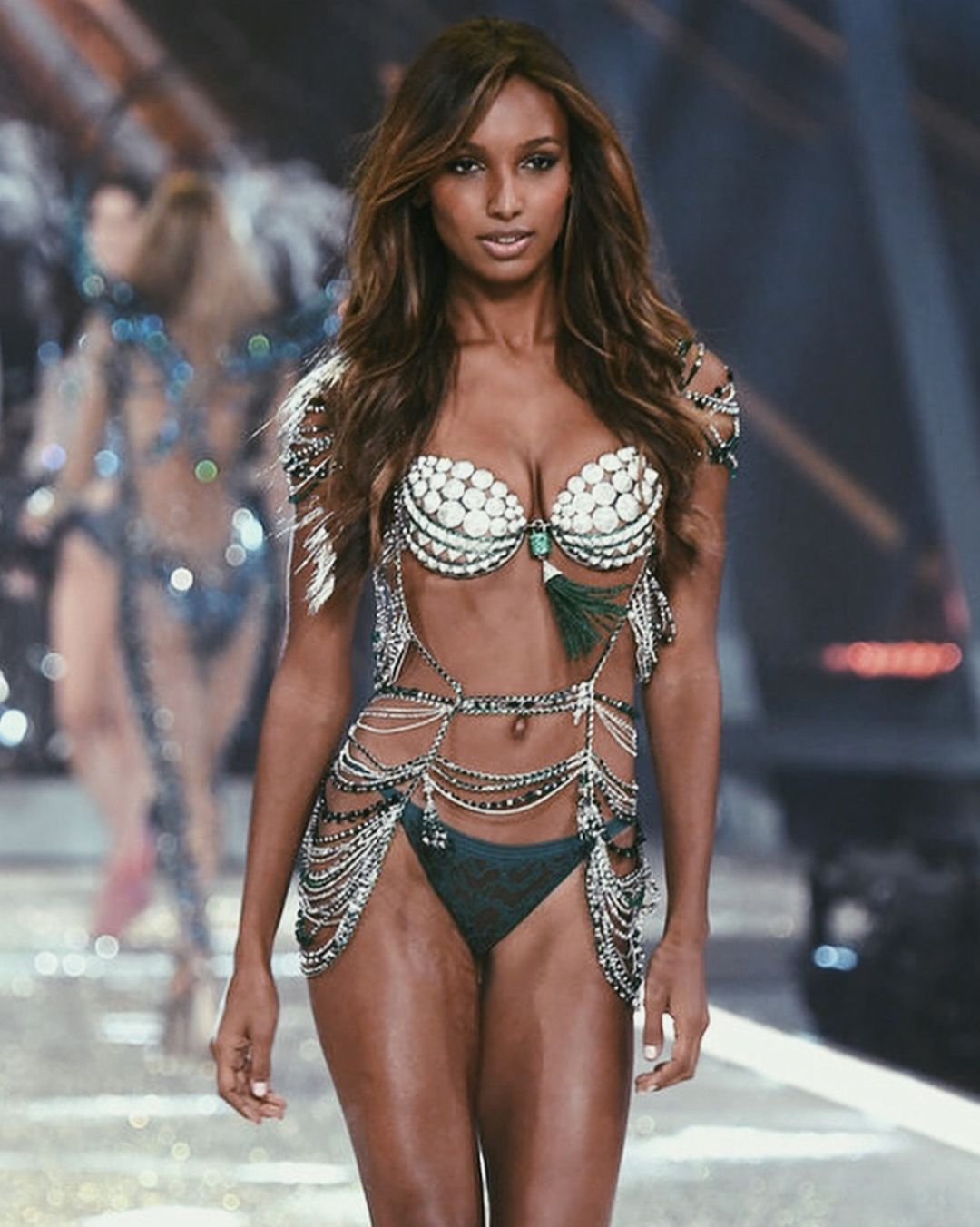eb39f9b17e Angel  JasmineTookes with her Bright Night Angels fantasy bra. Thoughts on  the design and