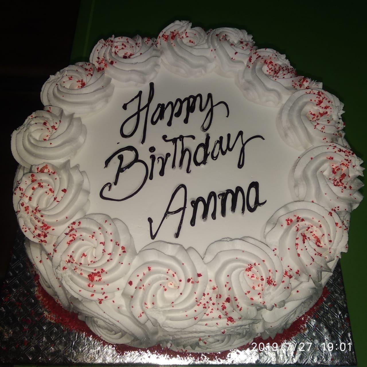 Red Velvet Cake for Mother Birthday, Surprise her on