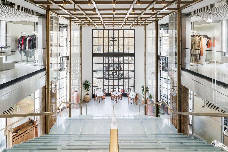 Gallery Of Galeries Lafayette Champs Elysees Bjarke Ingels Group 3 In 2020 Store Design Interior Paris Interiors Retail Interior Design
