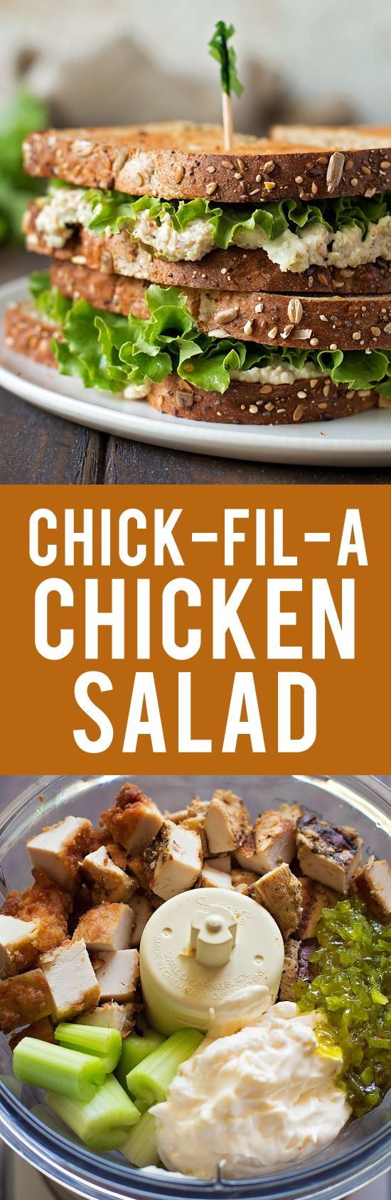 Copycat chick fil a chicken salad sandwich recipe food processor copycat chick fil a chicken salad sandwich forumfinder Images