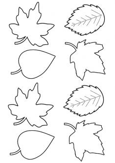 Yaprak Boyama Sayfasi Okuloncesitr Preschool Yaprak Doodle Desenleri Boyama Sayfalari