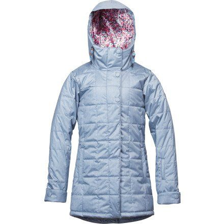 Roxy Snow Juniors Risky Business Snow Jacket for only $68.99 You save: $160.96 (70%)
