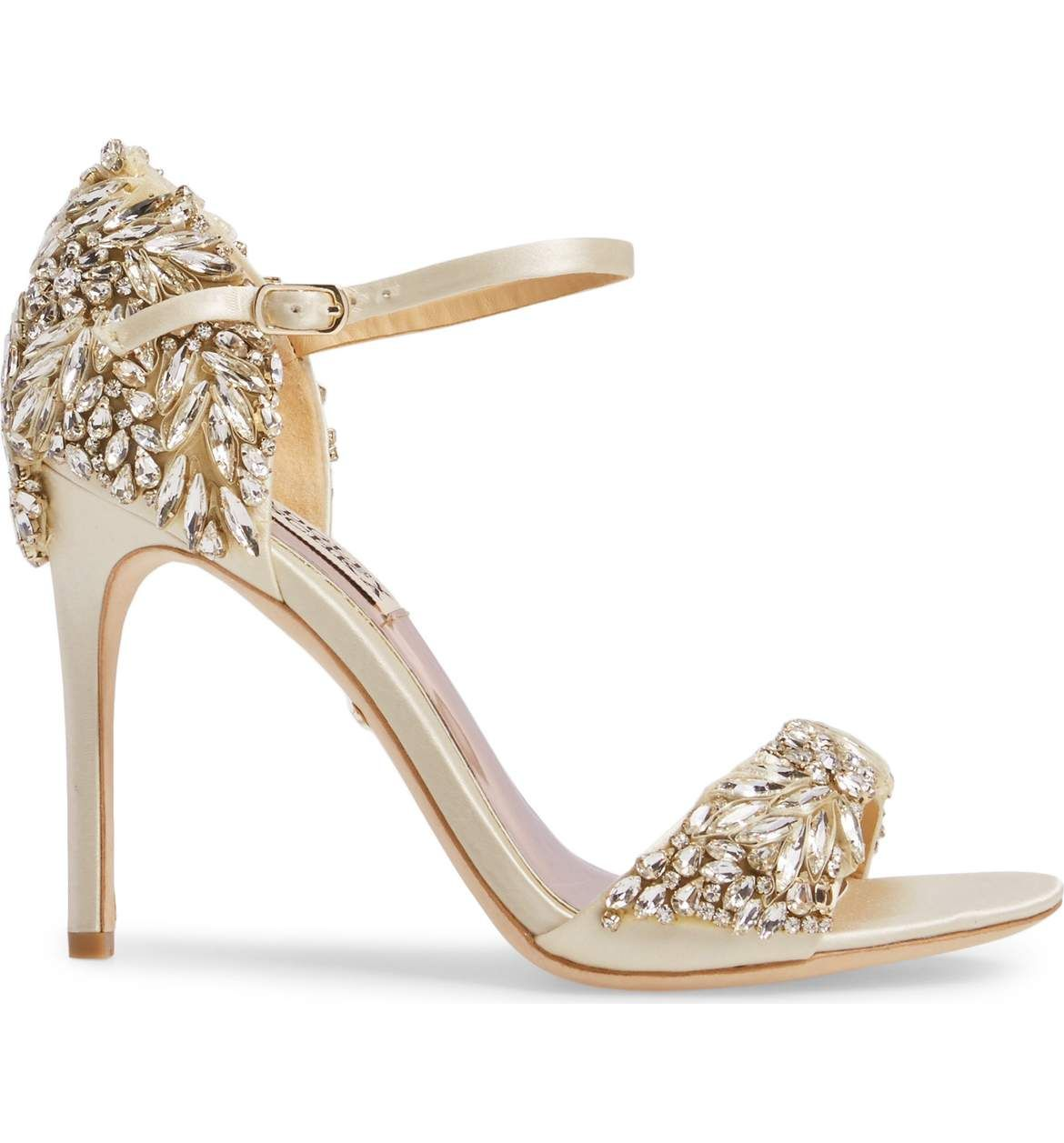 Badgley Mischka Tampa Ankle Strap Sandal (Women) | Nordstrom