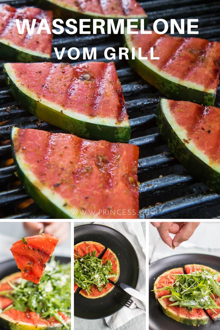 Wassermelone vom Grill | Foodblog Princess.ch