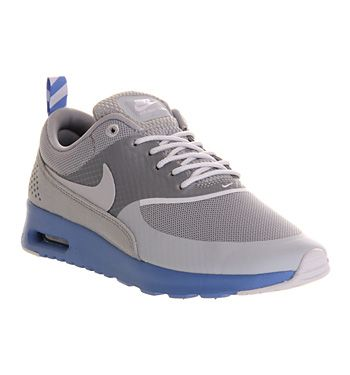 98a958ada40 Nike AIR MAX THEA GREY BLUE SPARKLE Shoes - Nike Trainers - Office Shoes