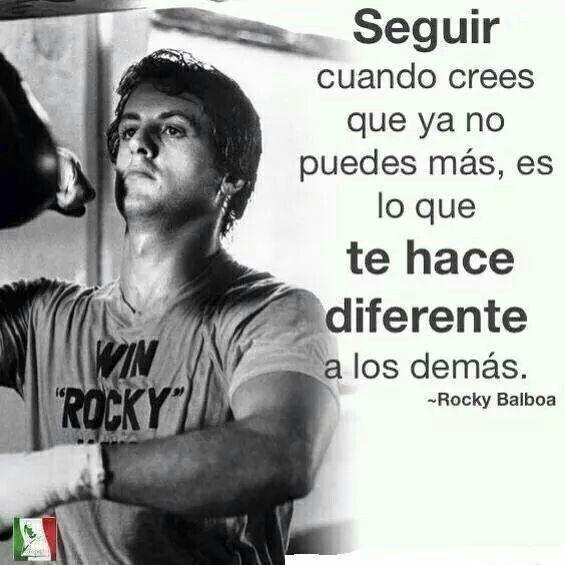 Rocky Balboa Rocky Balboa Motivacion Frases Y Frases Rocky