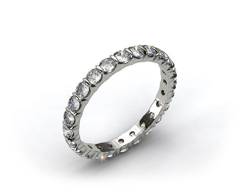 Ladies 1.00ctw* Bar Set Diamond Eternity Ring