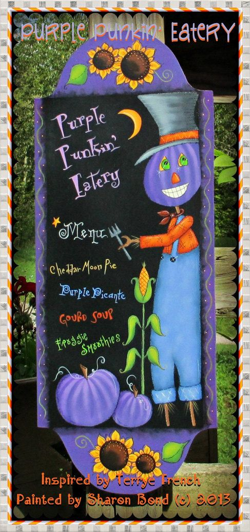 painting with friends e pattern purple punkin eatery painted by
