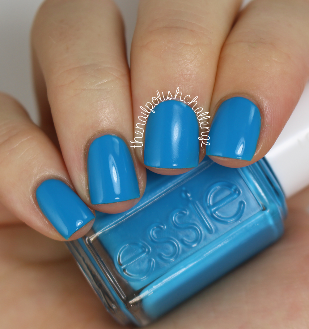 the nail polish challenge: Essie Haute in the Heat Swatches and ...