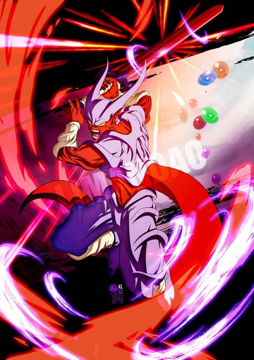 Super Janemba Dragon Ball Artwork Dragon Ball Art Anime Dragon Ball Super