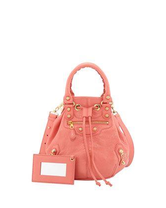 6fafc10c6a9a Giant 12 Golden Mini Pompon Bag