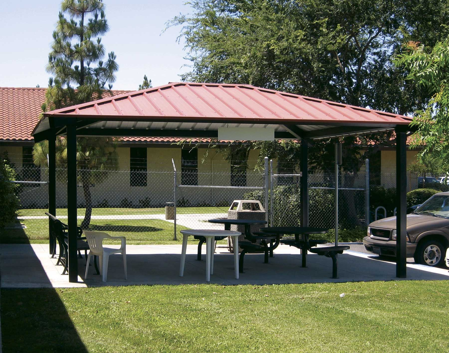 Metal Gazebo Roof Plans   The Gazebo Is A Pavilion Construction That Is Put  To Use For Several Years As A Public Space That Is Ample, For Groups To  Play Or