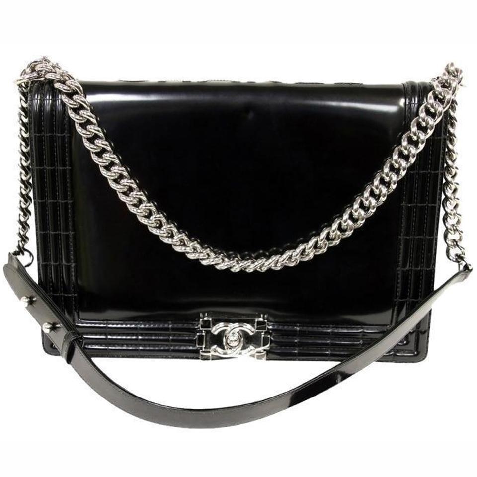 14ed49ec2da9 Chanel Jumbo Le Boy Large Maxi Smooth Braid Chain Flap Cross Body Shoulder  Bag $4025.00