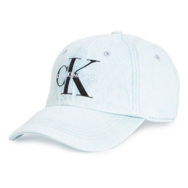 cea95fb8f7a Men s Calvin Klein Ck Jeans Ball Cap (120 BRL) ❤ liked on Polyvore featuring