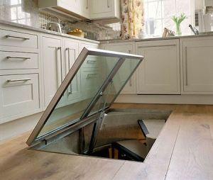 Best Trap Door To Basement Kitchen Flooring Cellar Wine Cellar 640 x 480