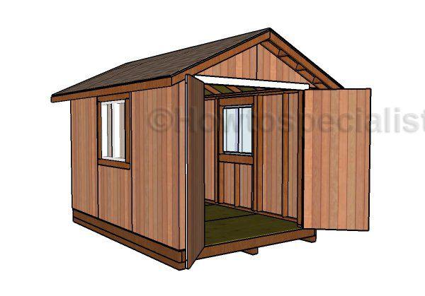 8x12 Storage Shed Plans Shed Design Diy Storage Shed Plans Storage Shed Plans