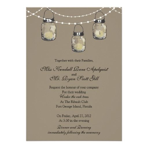 3 Hanging Mason Jars - Wedding Custom Announcements we are given they also recommend where is the best to buyDiscount Deals          3 Hanging Mason Jars - Wedding Custom Announcements Review from Associated Store with this Deal...