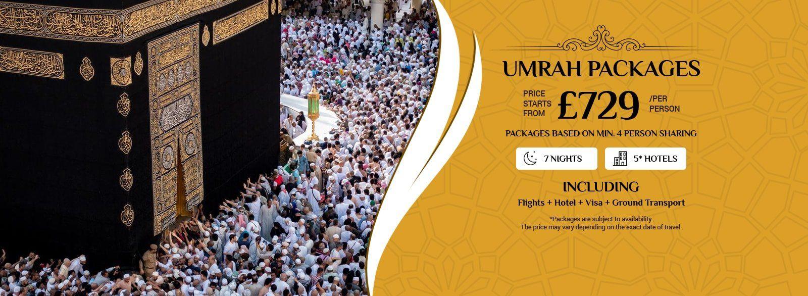 Easter Umrah Packages 2020 - 3, 4 & 5 Star deals in UK ...