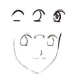 Apprendre A Dessiner Facon Manga Dessin Dessiner Yeux Manga Dessin Visage