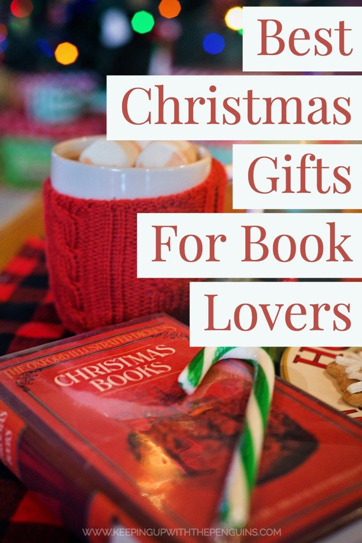 Best Christmas Gifts For Book Lovers | Best christmas ...