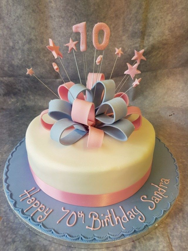 21 Marvelous Picture Of Parcel Birthday Cakes 0110 2 Tone