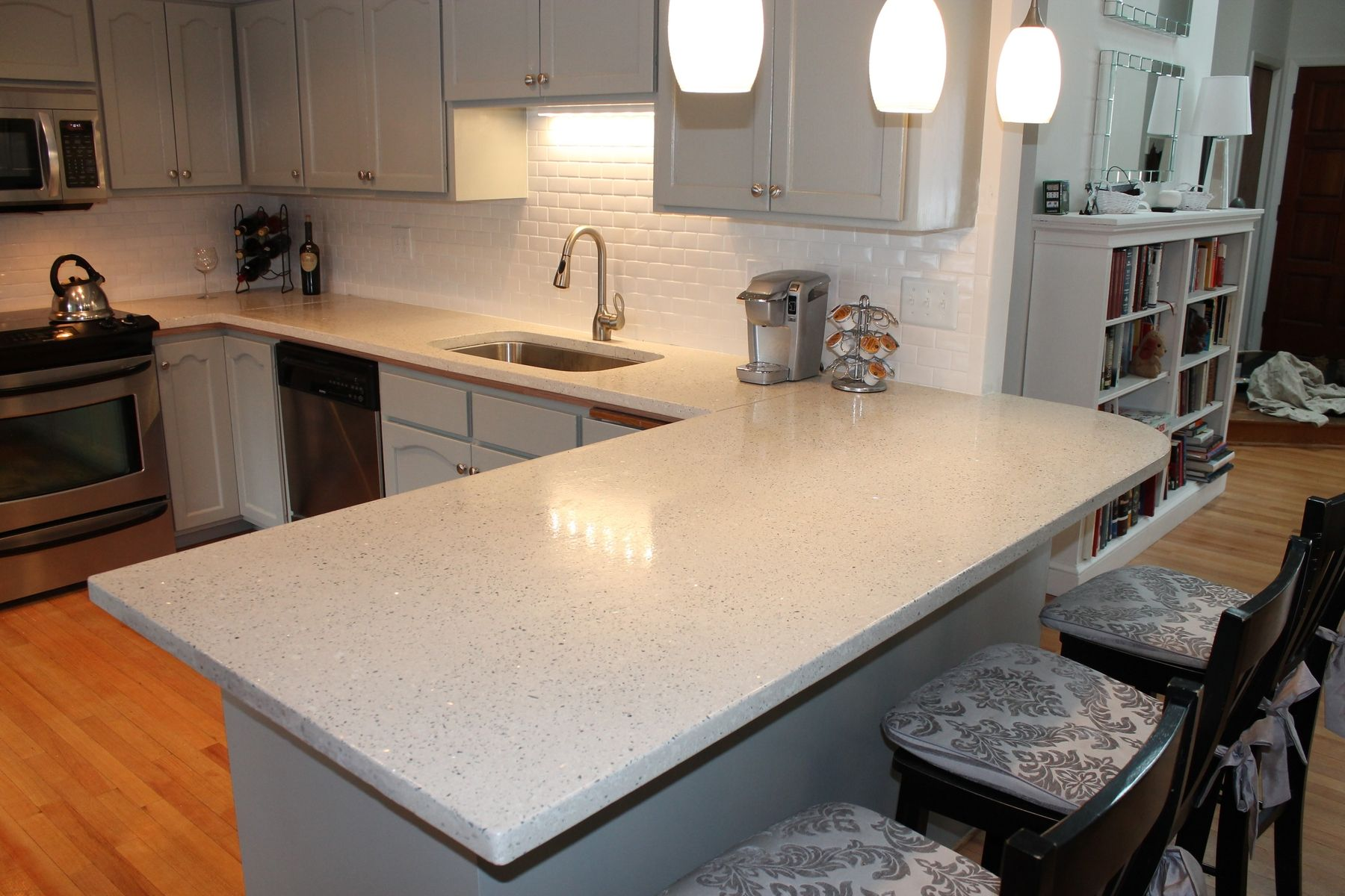 Concrete Countertops | Handmade Hand Made Concrete Countertop By The  Concrete Moon .