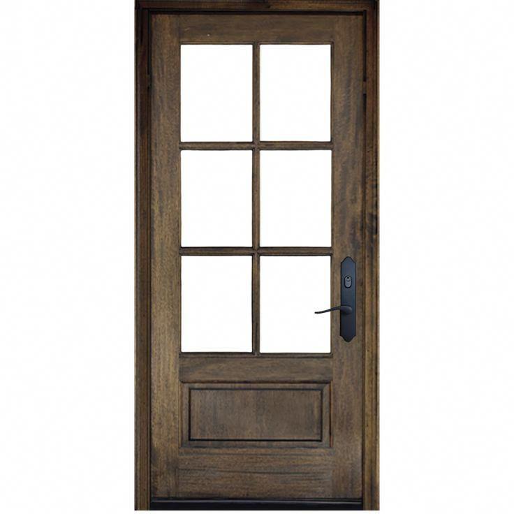 Fine Looking Brown Front Doors Brownfrontdoors In 2020 Entry Doors Single Entry Doors Double Entry Doors