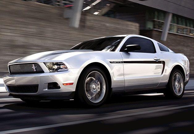 New Mustang V-6
