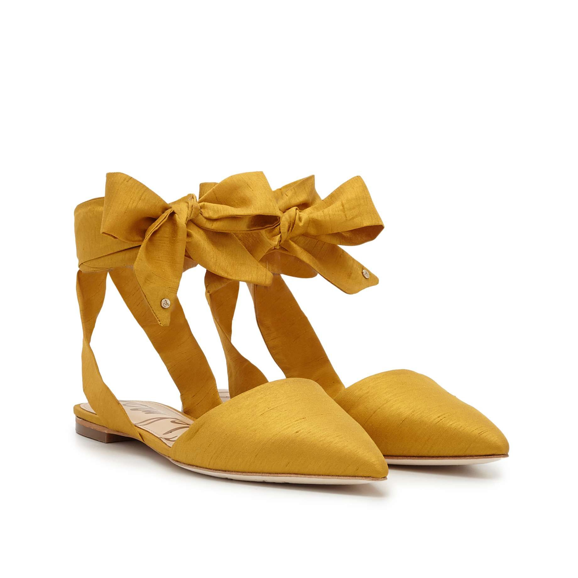 19acc1df6 add ankle ribbons as an option for my yellow flats