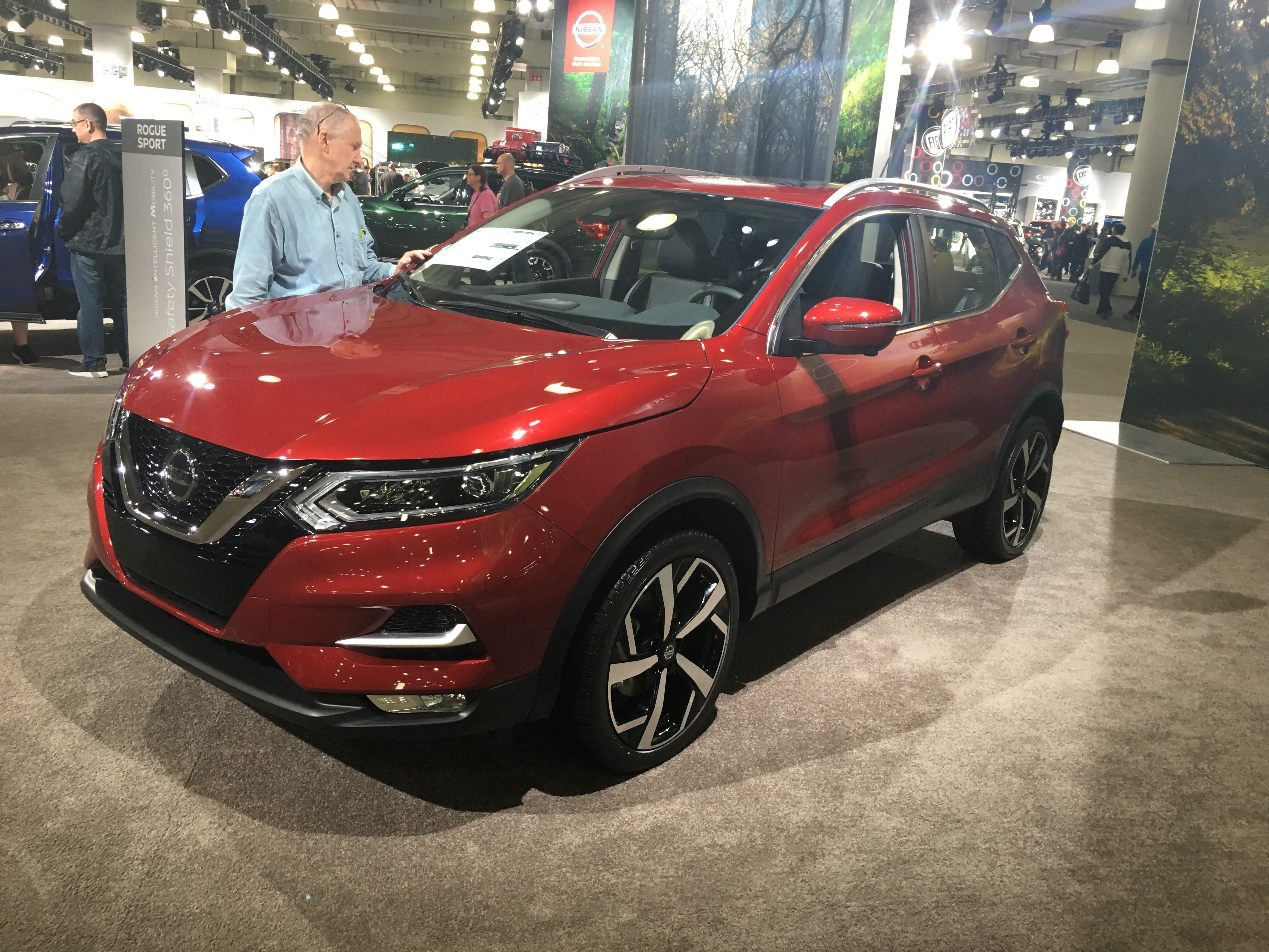2019 Nissan Rogue Sport Compact Crossover Nissan USA