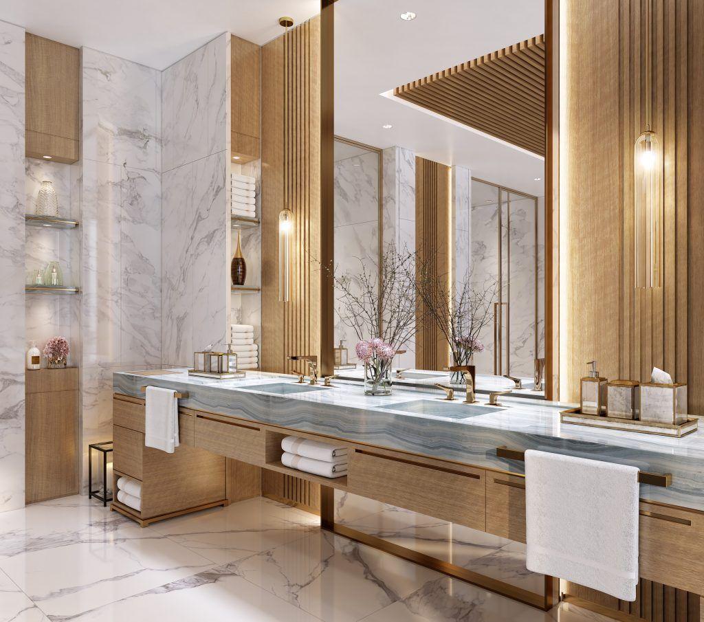 Private Residence Clubhouse International Design Excellence Awards Bathroom Design Luxury Restroom Design Washroom Design