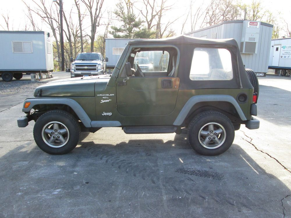 Jeep Wrangler TJ Sport Lifted Modified Carfax Certified